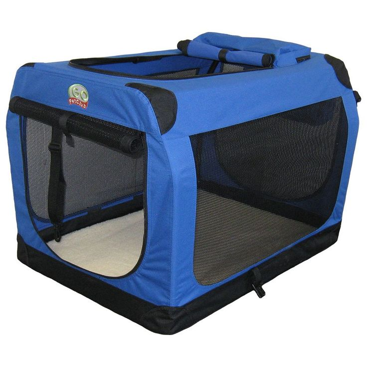 Go Pet Club 48-inch Soft Folding Dog Crate House