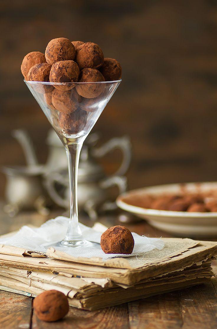 Kanela y Limón: Trufas de castañas y chocolate