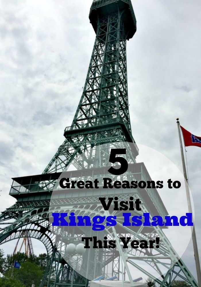 5 Reasons to Visit Kings Island This Year! | Renee's Kitchen Adventures - Why you need to visit Kings Island theme park; family fun, rides, special events, food, and more! Travel Ohio #ad #KIFirstTimer #KIBestTime
