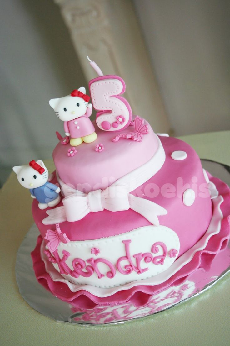 Image Result For Mio Amore Cake Design Hello Kitty