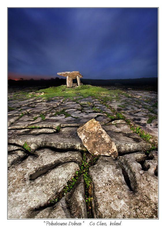 Poulnabrone Dolmen, Co Clare, Ireland