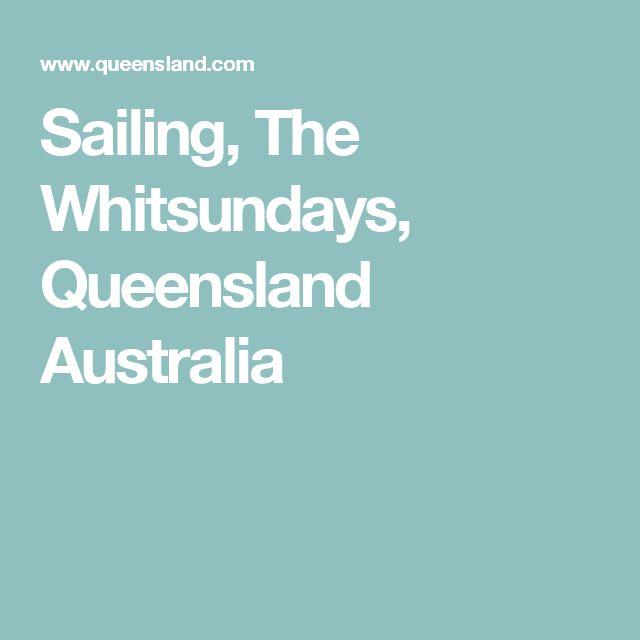 Sailing, The Whitsundays, Queensland Australia