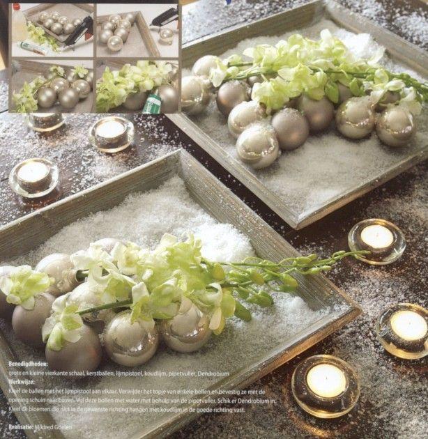 Tafeldecoratie ((kerst))
