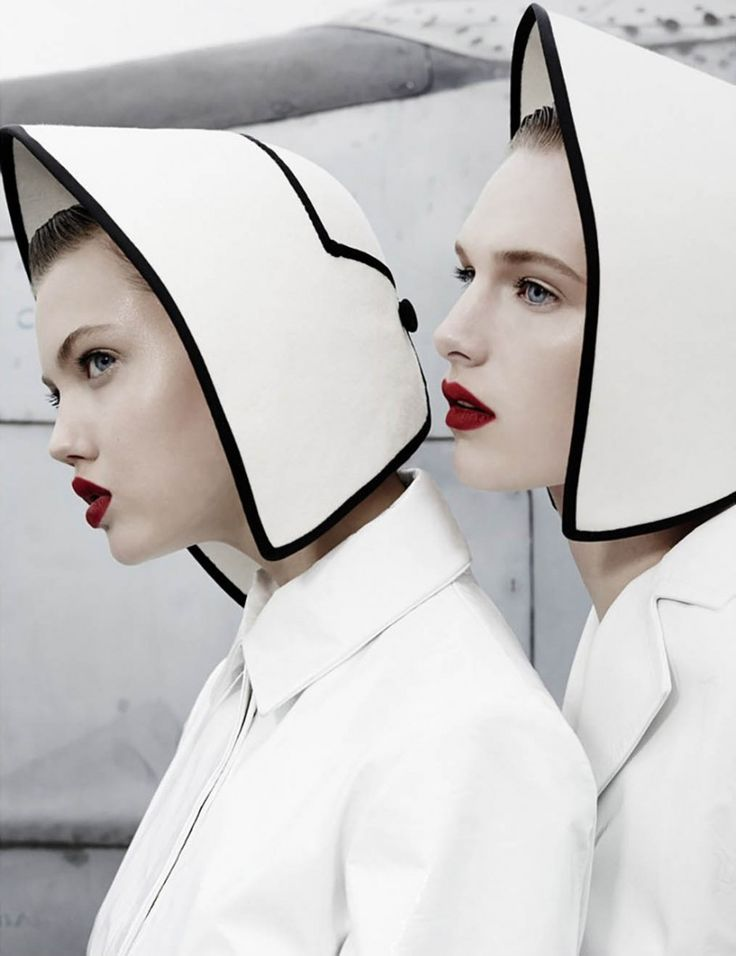 Moscow ft Lindsey Wixson and Ashleigh Good for W Magazine