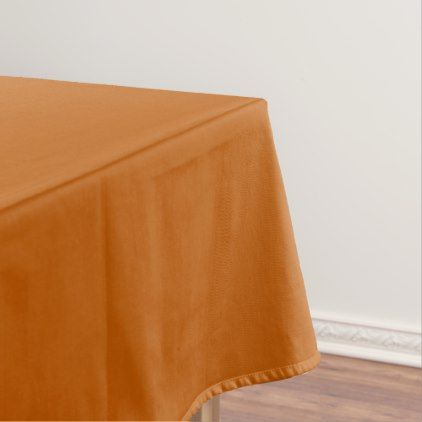 Burnt Orange Tablecloth - kitchen gifts diy ideas decor special unique individual customized