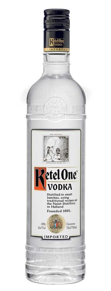"Ketel One Vodka (Engraved Bottle); Face it: The ""Mad Men"" crew is cooler than you are 