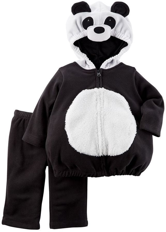 Baby Carter's Fleece Panda Bear Costume