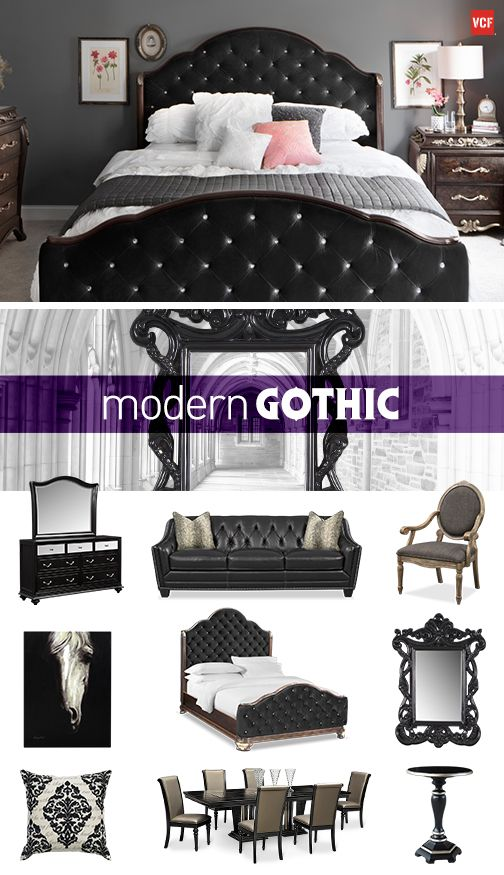 Add A Touch Of Gothic To Your Glam In The Bedroom Living Room Or Dining