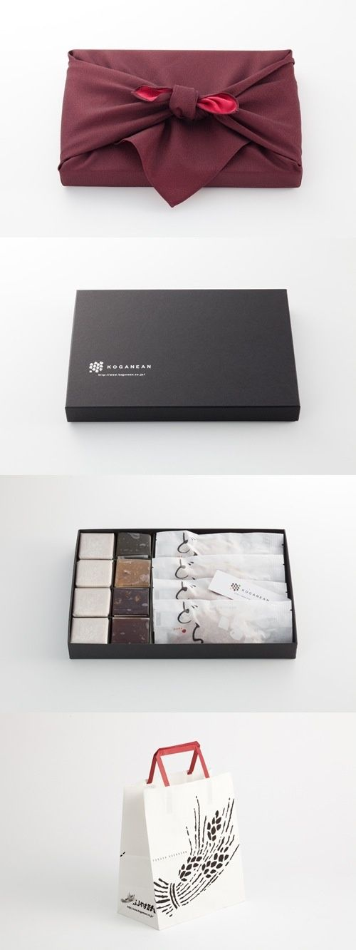 Unique packaging for sushi or chocolate company