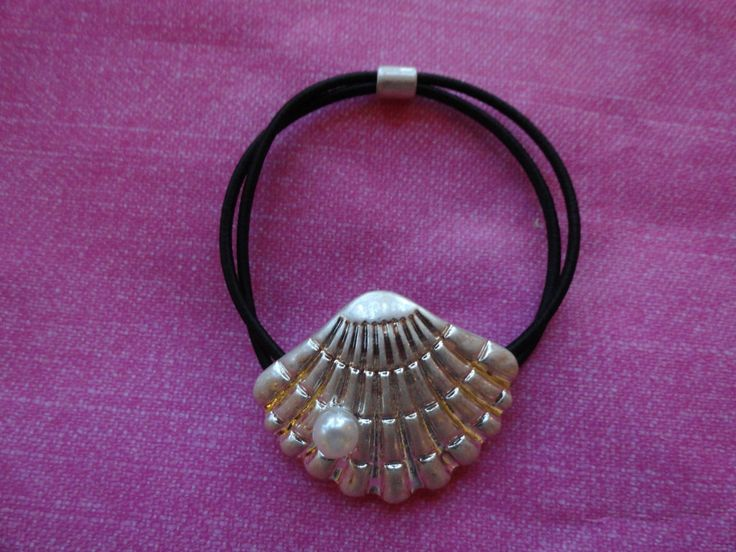 Seashell black rope bracelet 50% OFF