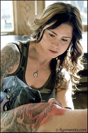 Kim Saigh, my favorite tattoo artist (: