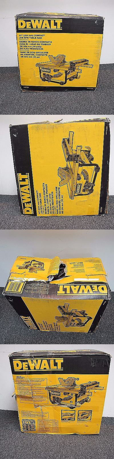 Table Saws 122835: Dewalt Dwe7480 10 Compact Job Site Table Saw Pa Philadelphia Local Pick Up Only -> BUY IT NOW ONLY: $224.99 on eBay!