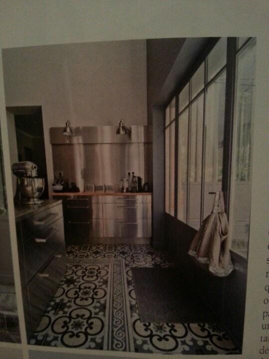 130 best images about carreaux de ciment on pinterest loft tile design and - Carreau ciment mural ...