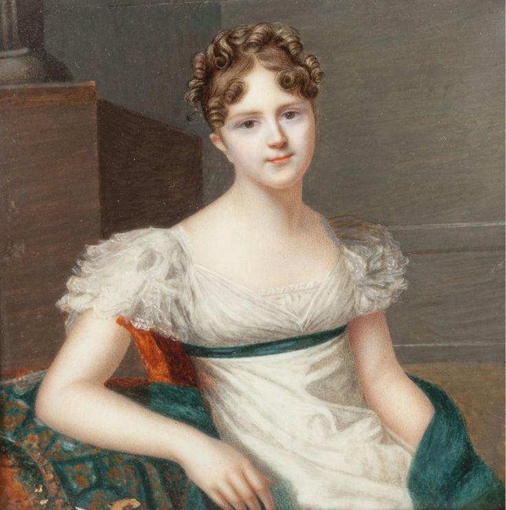 LOUIS AMI ARLAUD-JURINE (Swiss, 1751-1829) Portrait of Madame Naville-Boissier