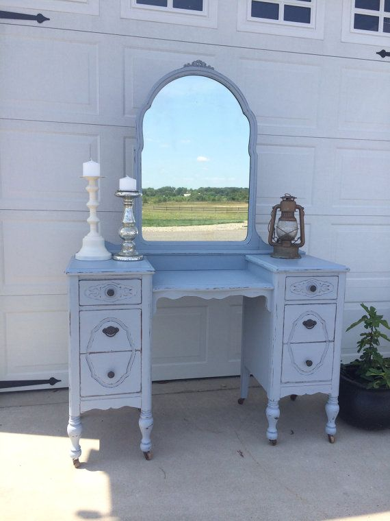 gorgeous antique bedroom makeup vanity or entryway foyer table