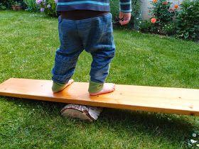 rebelle upcycling: Bewegungsspiel aus Altholz