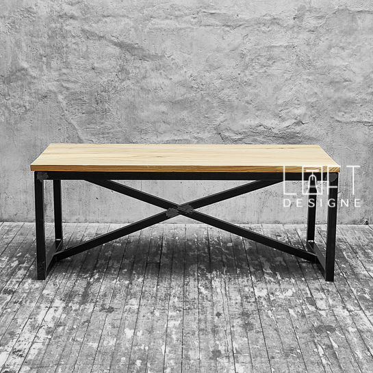 стол 220 Model. Iron SteelWood FurnitureWrought ...