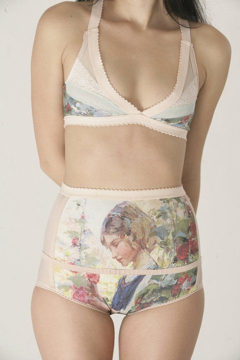 womens adorable  half marathon high undies      soft isn     t waisted printed this bra mesh