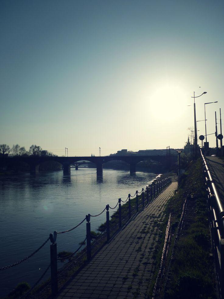 by the river Vltava #Prague