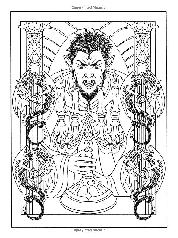 1000 images about coloring pages on pinterest coloring for Vampires coloring pages