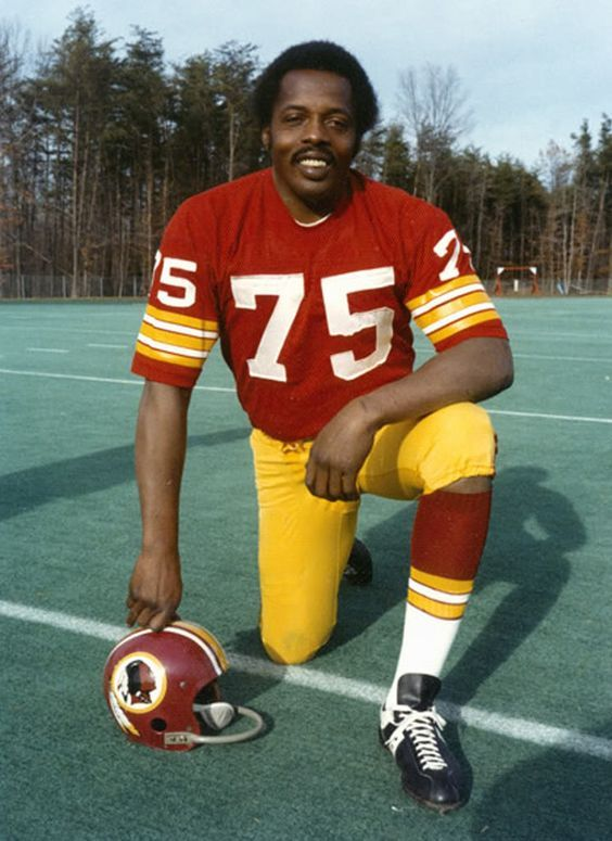 Deacon Jones with the Washington Redskins