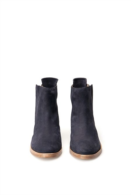 Smithy Nubuck Zip Boot - from Trenery. Colour is ink :)