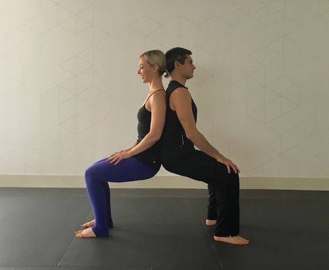 12 best yoga partner stretching images on pinterest