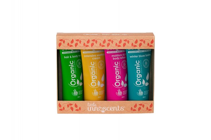 Little Innoscents Organic Winter Skin Care Travel Pack