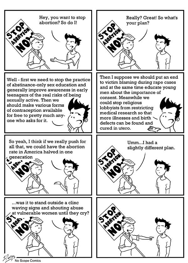 """profeminist: """" profeminist: """" Comic source #StandWithPP """" My post on the 100% hypocrisy of the so-called """"Pro Life"""" movement """""""