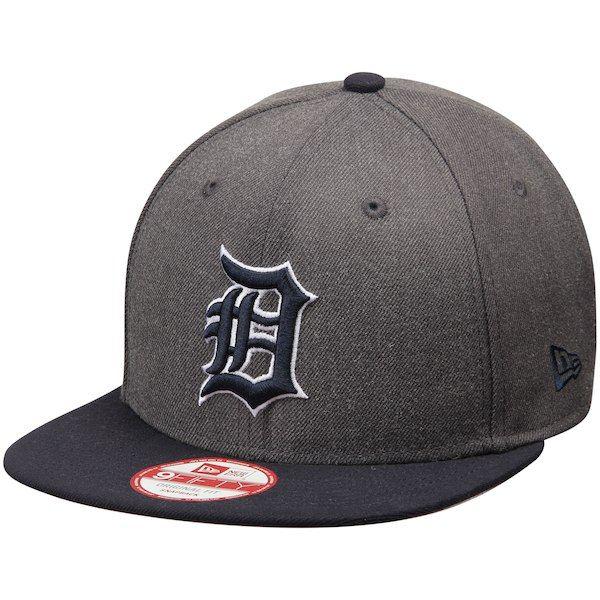 a85465615a27d Detroit Tigers New Era Original Fit 9FIFTY Snapback Adjustable Hat -  Graphite Navy  DetroitTigers