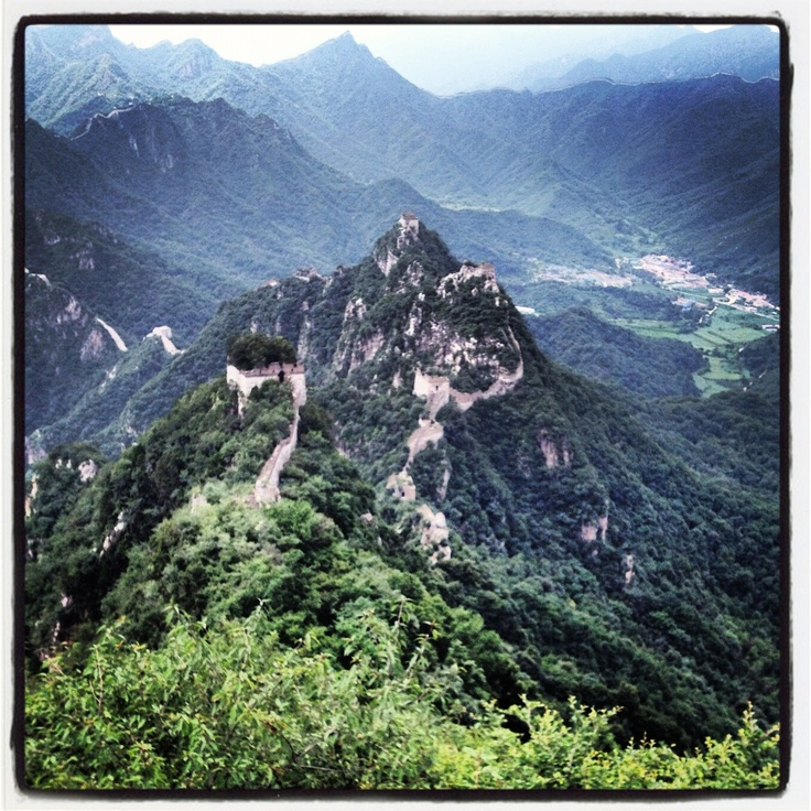First Mountain on our Great Wall of China hike