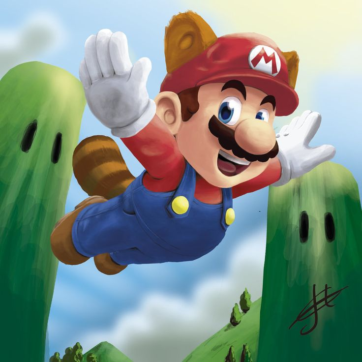 Super-mario painting by joelmbello.deviantart.com on @deviantART
