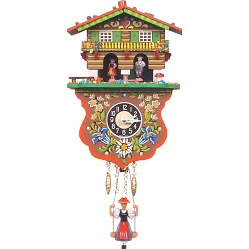 Have to have it. Boy and Girl Weather House Cuckoo Clock - $55.98 @hayneedle.com