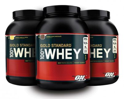 Optimum Nutrition's Gold Standard 100% Whey Protein review.  http://dailygainsfitness.com/optimum-nutrition-gold-standard-100-whey-protein-review/