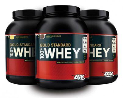 Optimum Nutrition's Gold Standard 100% Whey Protein review.  http://dailygainsfitness.com/optimum-nutrition-gold-standard-100-whey-protein-review/