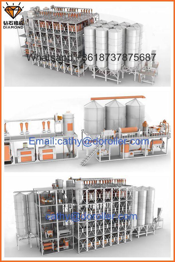 wheat flour mill milling line plant