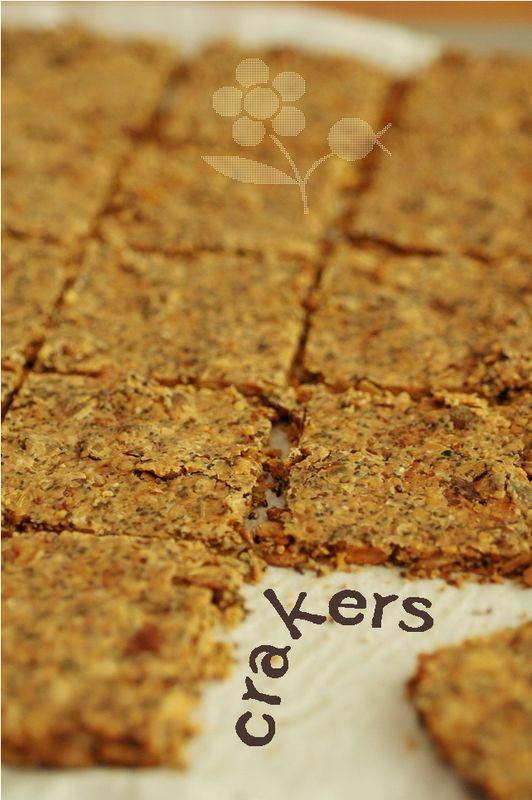 Crackers aux noix & graines