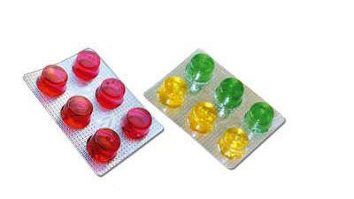 Blister Bala de Goma e Chocolate  #blister #comprimidos #capsulas #embalagem #pastilhas #ideal #equipamentos #farmácia #farmaceuticos #baladegoma #chocolate #compimido