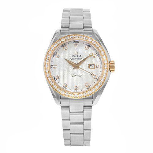 Omega Watch Seamaster Aqua Terra Co-axial Automatic Diamond 231.25.34.20.55.003 - TimeOnMyHand