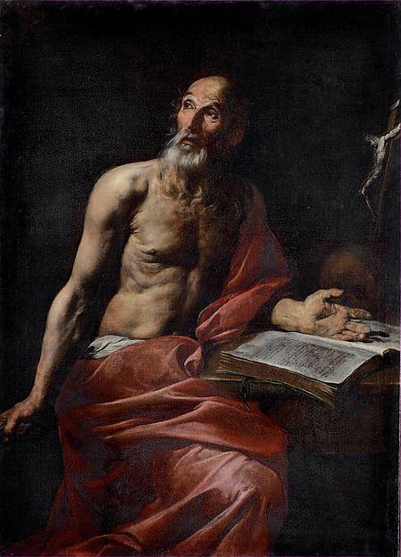 Valentin De Boulogne | Saint Jerome | The Met