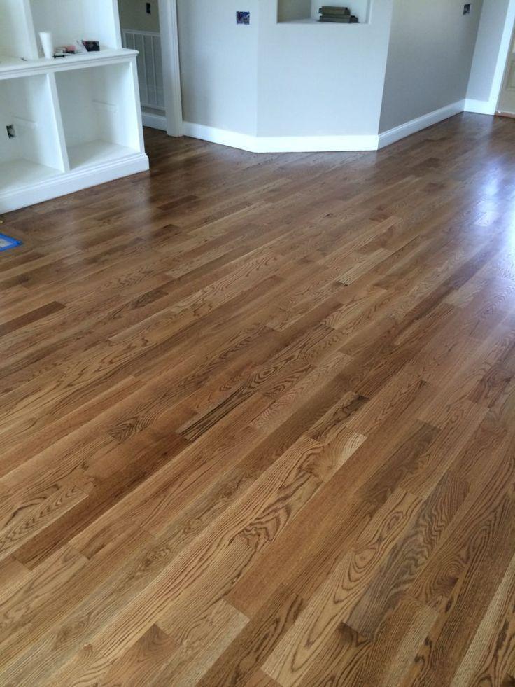 Hardwood Floor Refinishing Nutmeg Stain By Minwax Wood Finish Www Wolverineflooring Hardwood Floor Stain Colors Wood Floor Colors Refinishing Hardwood Floors