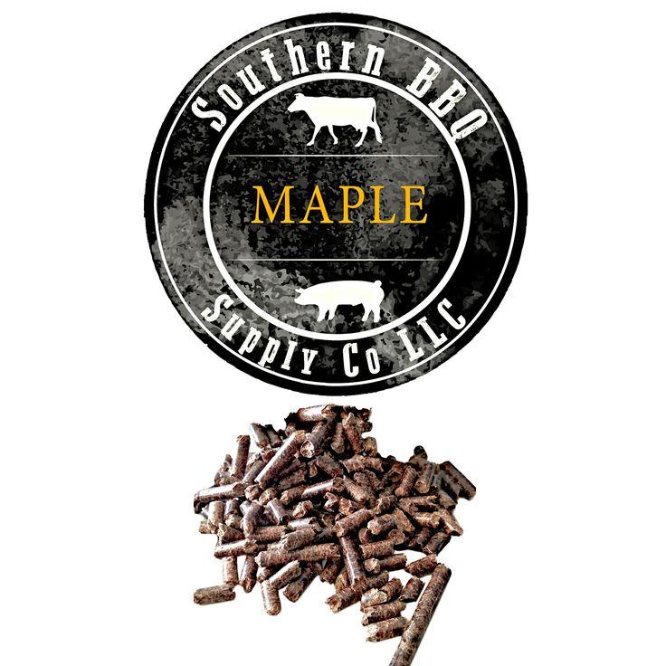 Maple BBQ Pellets