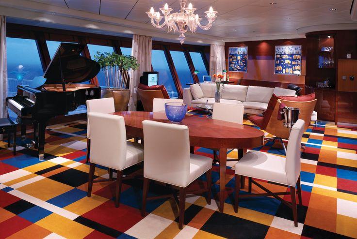 Bateaux de croisière: 10 suites de rêve   CHEZ SOI Photo: ©Norwegian Cruise Line #croisiere #luxe #cabine #suite #bateaux #voyage