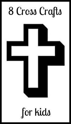 8 Easter Cross Crafts for Kids