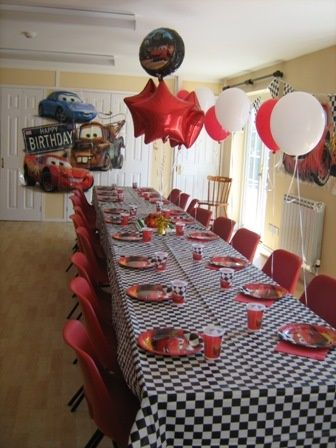 86 best Cars Birthday Party Ideas images on Pinterest Birthday