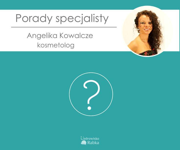 Byłyście kiedykolwiek u kosmetologa? Teraz macie szansę zadać naszej specjalistce wszelkie nurtujące Was pytania na temat kosmetologii. A ponieważ Pani Angelika jest specjalistką Uzdrowiska Rabka, to zna się również na wpływie solanki na urodę :) Zostawcie pytania w komentarzu, a odpowiedzi udzielone przez naszą specjalistkę będziemy systematycznie publikować :)