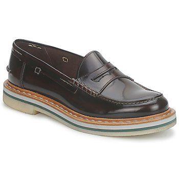 #Mocasin de estilo loafer Derby #Endless by #Premiata de cuero de ternero. Suela espesa con múltiñles capas para un resultado informal. Construcción: cosido #rebajas #mocasin #spartoo #hombre #zapato