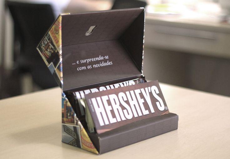 Criação de Sales Kit Hershey's