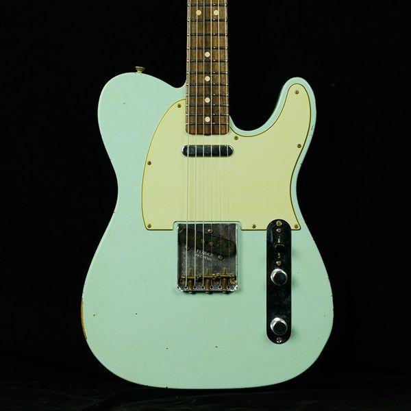 【送料無料】フェンダーカスタムショップ Fender Custom Shop フェンダーカスタムショップテレキャスター Fender Custom Shop Telecaster '63 テレキャスター - フェイデッドソニックブルー - レリック - R71500 '63 Tele - Faded Sonic Blue - Relic - R71500
