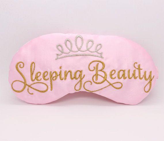 78768159501 Sleeping Beauty Sleep Mask Princess Satin Eye by TheSleepyCottage ...